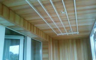 Потолочная сушилка для белья на балкон: как сделать своими руками сушку, обзор моделей, фото