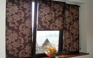 Как крепить рулонные шторы на окна: советы эксперта