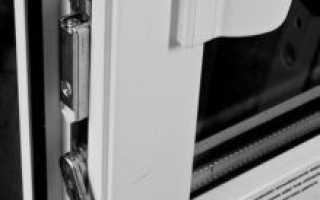 Балконная дверь открывается сразу в двух плоскостях
