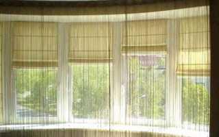 Шторы на балкон своими руками: как сделать римскую штору, фото, видео