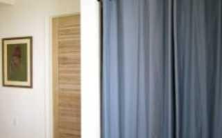Шторы вместо дверей: идеи по использованию