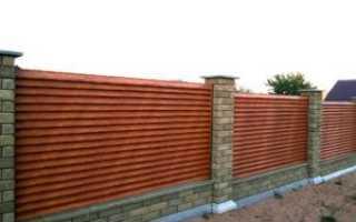 Забор деревянный — жалюзи своими руками