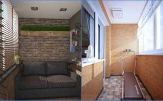 Балкон в стиле лофт: фото, дизайн своими руками