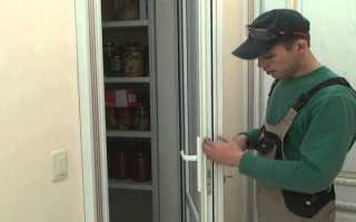 Как установить ручку на пластиковую дверь: порядок установки