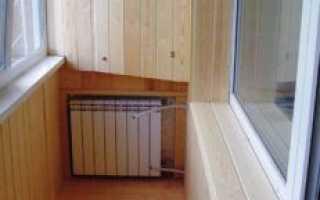 Батарея на балконе: как вывести радиатор