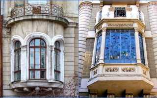 Дом с эркером: виды эркерного окна, оформление, фото