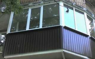Обшивка балкона профнастилом: как обшить снаружи своими руками, профлистом