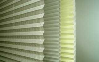 Жалюзи плиссе на пластиковые окна: их виды, конструкция, фото