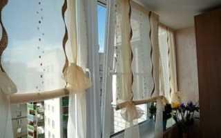 Рулонные шторы на балкон: советы по выбору