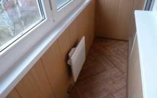 Обогреватель для балкона: обогрев лоджии инфракрасного типа, конвектором, теплым полом
