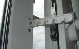 Ограничитель открывания пластиковых окон: виды гребенок, установка