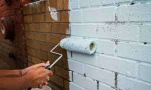 Как и чем покрасить кирпичную стену на балконе и лоджии самостоятельно — выбираем краску правильно