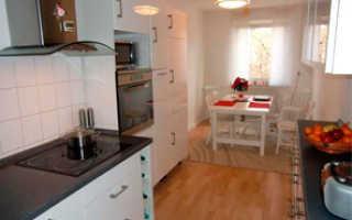Совмещенная кухня с балконом: объединение лоджии с кухней, как соединить, фото