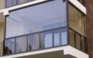 Безрамное остекление балконов и лоджий. Конструкция и фурнитура для безрамного остекления.