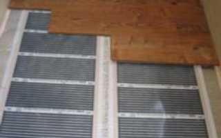 Ламинат на теплый пол на балконе: виды укладки и порядок монтажа