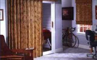 Шторы на двери и дверные проемы своими руками