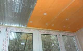 Как утеплить потолок на балконе: утепление своими руками лоджии,  видео, фото
