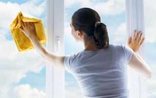 Чем и как мыть пластиковые окна: после ремонта, от скотча и грунтовки, средства для мытья