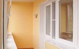 Отделка балкона гипсокартоном с утеплением своими руками