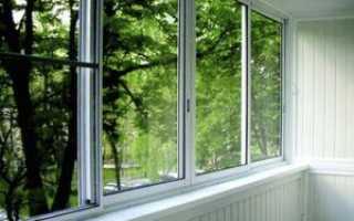 Алюминиевые балконные рамы: раздвижные и ПВХ