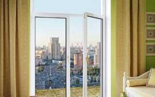 Двери балконные двухстворчатые: особенности конструкции
