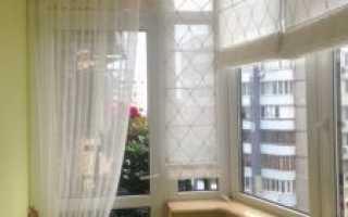 Шторы на балкон своими руками: особенности выбора