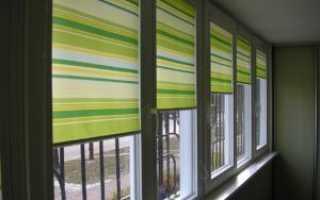 Жалюзи на балкон: как выбрать и смонтировать самостоятельно