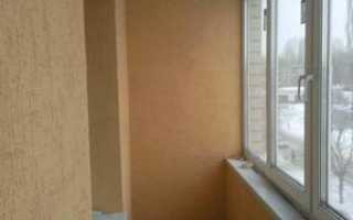 Отделка балкона декоративной штукатуркой: виды, стены лождии своими руками,  видео