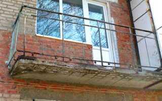 Ремонт балконной плиты: восстановление, укрепление
