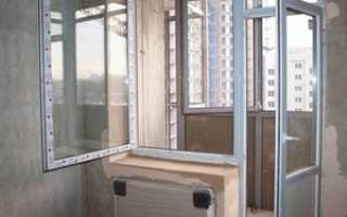 Установка балконного блока: монтаж своими руками, как установить, видео