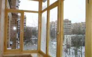 Остекление балкона деревянными рамами: как остеклить лоджию деревом