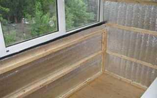 Чем утеплить балкон внутри: какой утеплитель лучше, пенопласт, пеноплекс, пенофол, видео-инструкция