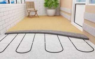Теплый пол на балконе своими руками: как сделать электрический, инфракрасный, водяной, видео-инструкция
