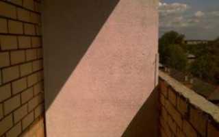 Балконные перегородки: как сделать из пеноблоков от соседей