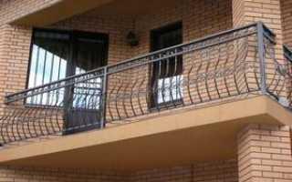 Балконные ограждения из металла: высота гост и снип, монтаж металлических оград своими руками