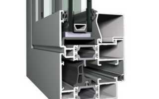 Теплые алюминиевые окна, особенности профиля с терморазрывом