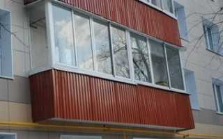 Отделка балкона снаружи: как обшить своими руками профнастилом, сайдингом, вагонкой пвх