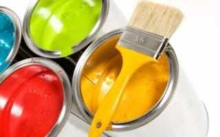 Покраска балкона внутри своими руками