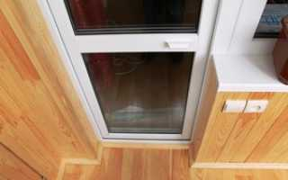 Ремонт пластиковой балконной двери: провисла, не закрывается, скрипит, дует