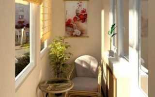 Дизайн маленького балкона: как обустроить в хрущевке внутри, фото