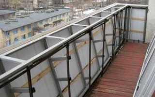 Остекление балконов с выносом: выносное остекление, расширение своими руками, фото