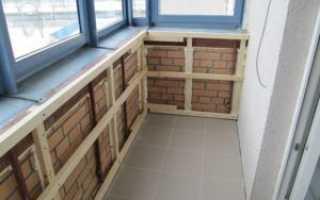 Обрешетка балкона: как сделать на трапециевидной лоджии