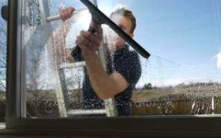 Как помыть окна на балконе снаружи на высоком этаже