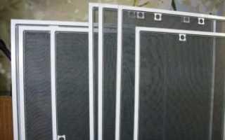 Москитная сетка на пластиковые окна. Виды сеток, комплектующие, профиль. Оборудование для производства москитной сетки