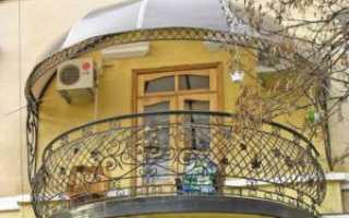 Высота ограждения балкона: стандарты и правила