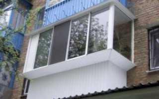 Остекление балкона в домах типовых серий дома — Копэ, 44Т, сталинка, хрущевка, Утюг, Сапожок, 6 метров