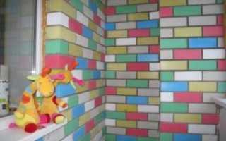 Чем покрасить кирпичную стену на балконе: советы эксперта