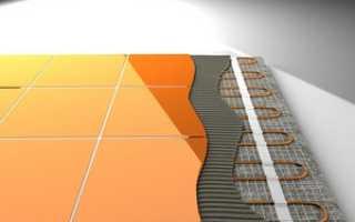 Теплый пол на балконе под плитку: какой лучше, укладка и монтаж своими руками, фото, видео