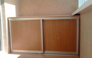 Тумба на балкон: как сделать тумбочку своими руками, фото