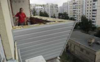 Утепление балкона снаружи своими руками: пошаговый монтаж
